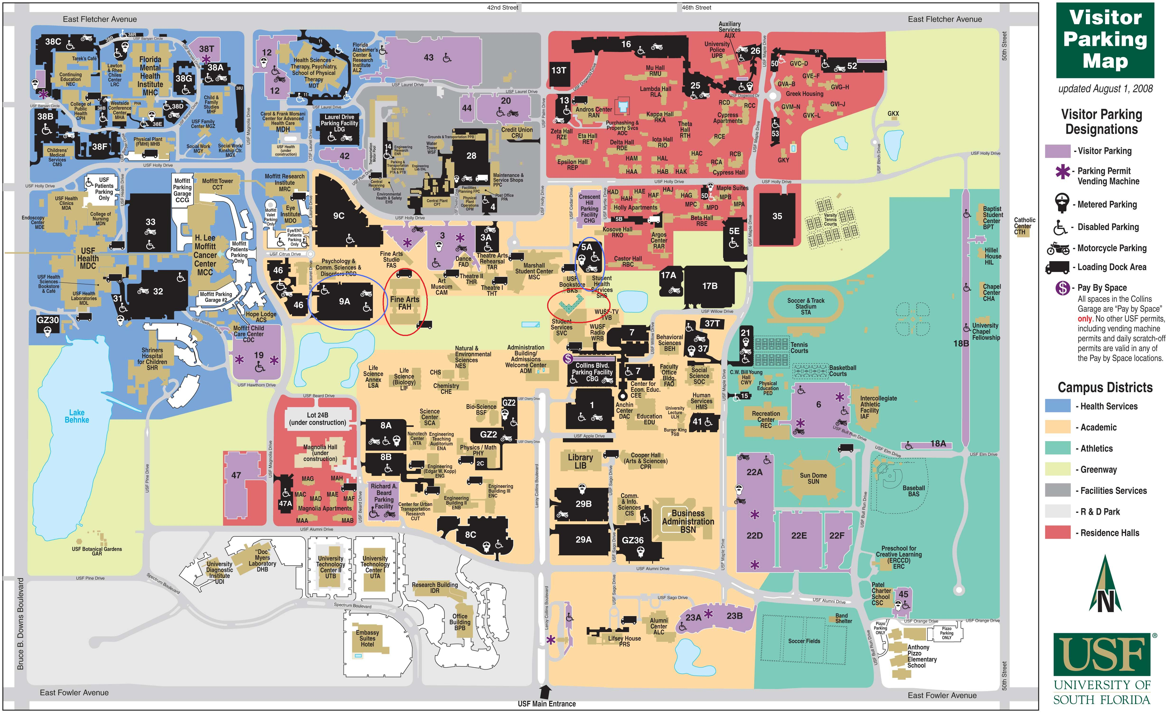 Depths Of Chaos The Garou Nation - Usf location map